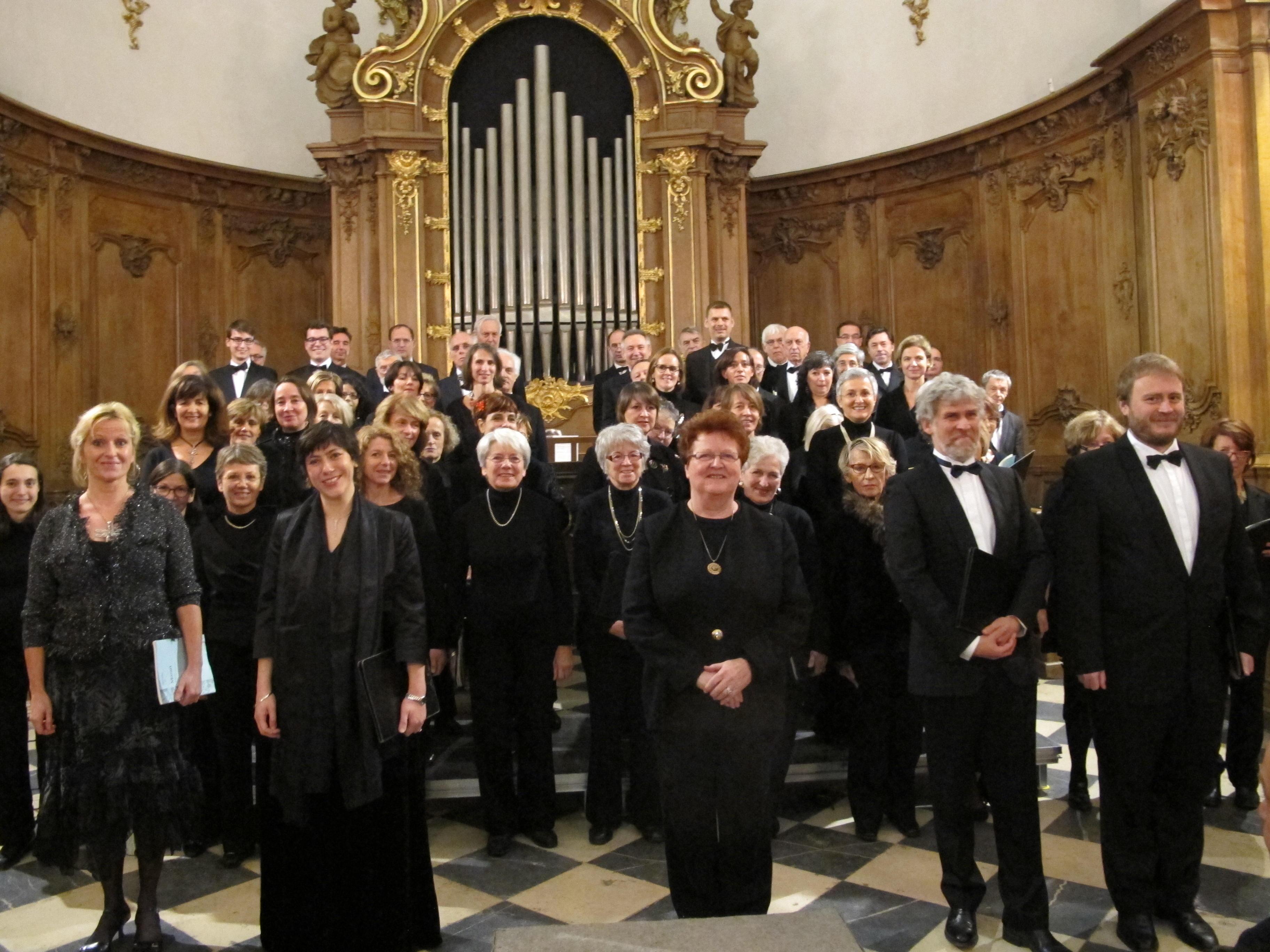 Concert St Bruno choristes et solistes