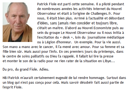 hommages patrick fiole